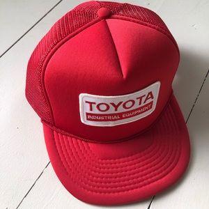 vintage Toyota mesh trucker hat